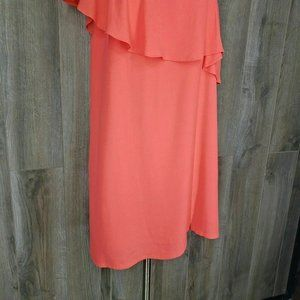 1. State Dresses - REVOLVE 1.State Ruffle One Shoulder Dress Size 12